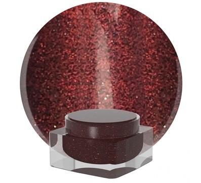 All That Jazz Glitter Dust in Garnet www.nailharmonyuk.com