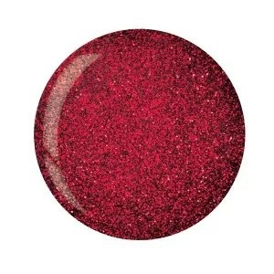 Cuccio Powder Polish in Dark Red Glitter www.cuccio.co.uk