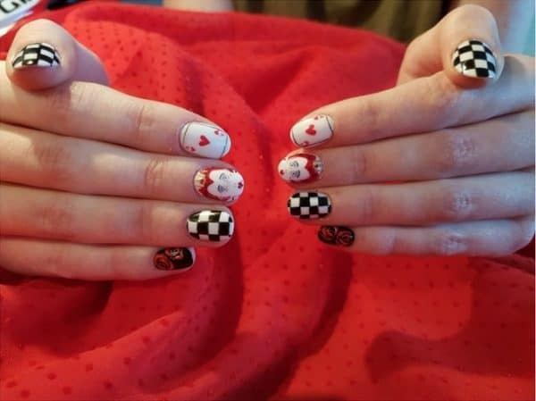 Winners Announced Of Mad Hatter Nail Art Competition Scratch Magazine