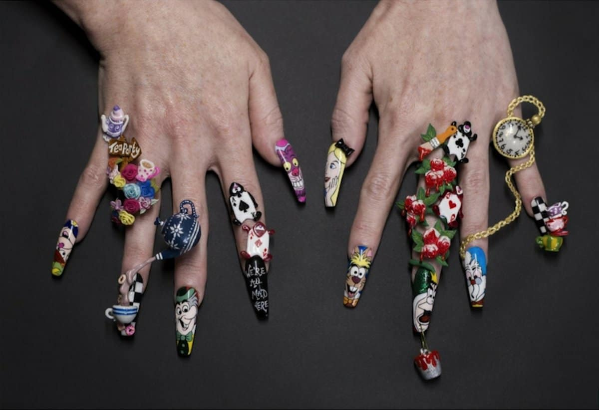 Winners announced of Mad Hatter nail art competition | Scratch Magazine