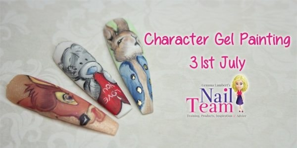ada9a5965cd Character Gel Painting with Gail Nicholls – The Nail Team – Scratch ...