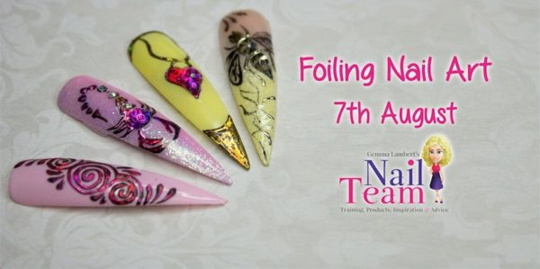 659f9b31965 Foiling Nail Art with Gail Nicholls of The Nail Team – Scratch Magazine