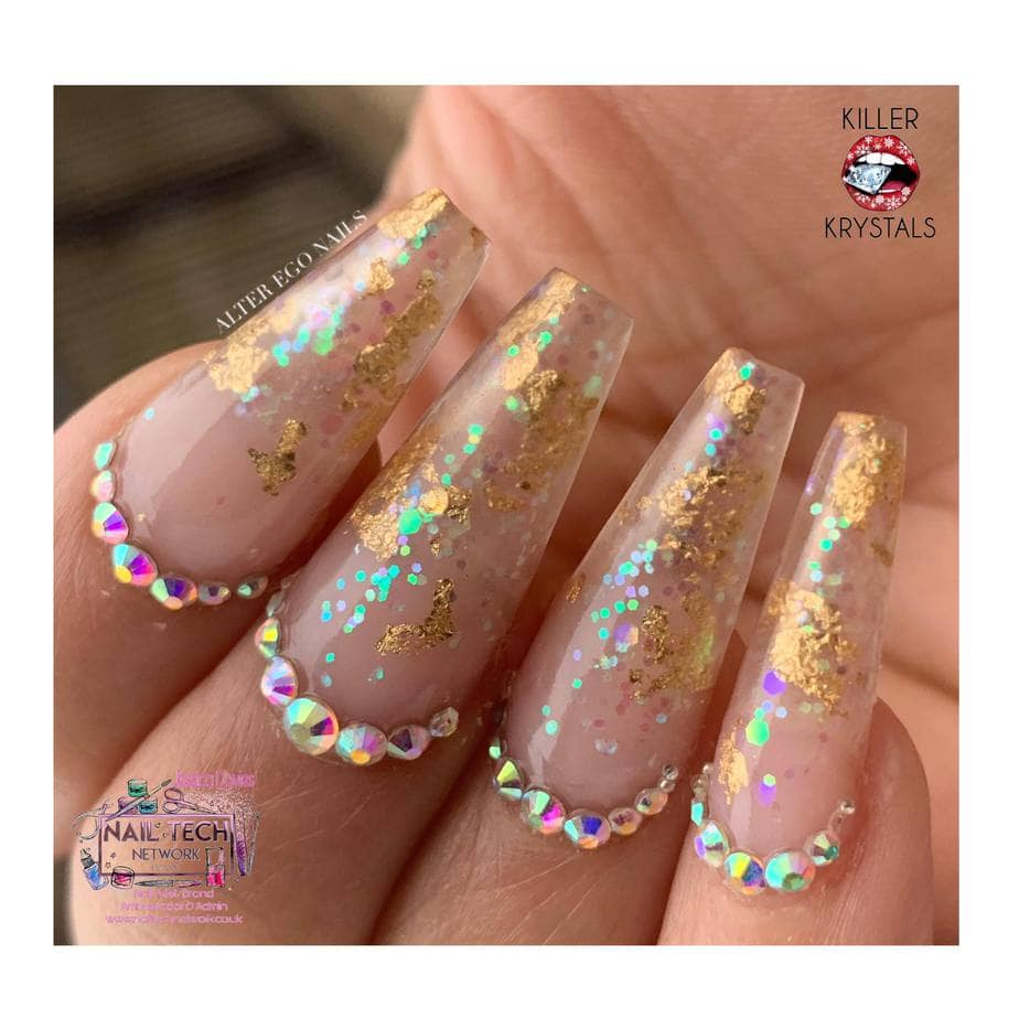 Jessica Christmas Nails: WHAT I'M WEARING: Jessica Davies, Killer Krystals And