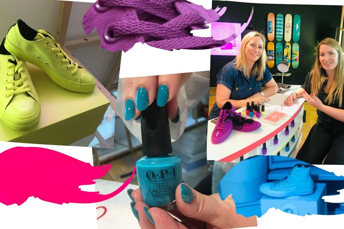 b70443d8619a OPI x Converse: A Colourful Collaboration | Scratch Magazine